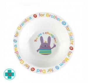 HAPPY BABY FEEDING BOWL ТАРЕЛКА ГЛУБОКАЯ 6МЕС+
