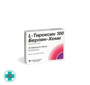 L-ТИРОКСИН 100 БЕРЛИН-ХЕМИ N100 ТАБЛ
